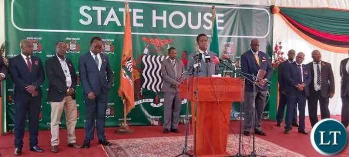 President Lungu's full Media Address to Journalists