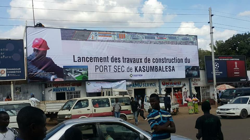 US$6M TRADE CENTRE FOR KASUMBALESA